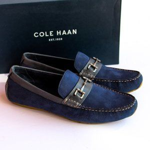 NWT Marine Blue Cole Haan Loafers